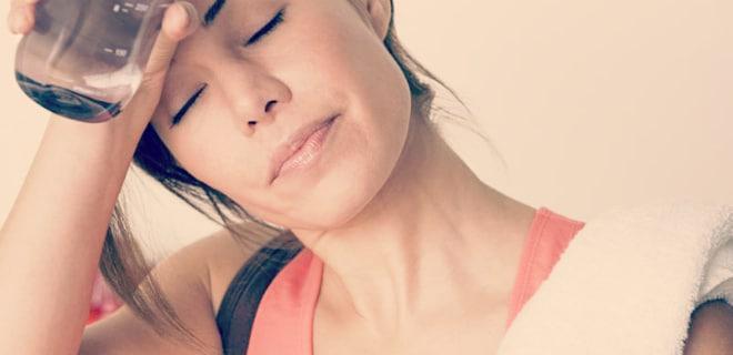 sudar al ejercitarse para adelgazar